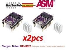 2pcs Stepstick DRV8825 Stepper Motor Driver Reprap RAMPS ENVIO RAPIDO