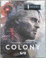 COLONY SEASON 3 2018 USA TV PRINT PRESS KIT BOOKLET + PROMO USB JOSH HOLLOWAY