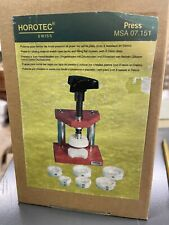 Msa 07.151 New listing Horotec Press