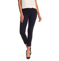 Amanda + Chelsea Women's Size 12 Alex Ponte Knit Slim Leg Pants Black NEW