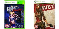 Lollipop Chainsaw &  wet     Xbox 360  PAL FORMAT