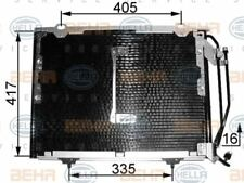 8FC 351 038-464 HELLA Condenser  air conditioning
