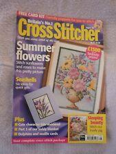 CROSS STITCHER MAGAZINE 85 AUGUST 1999