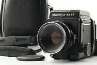 【MINT】 Mamiya RB67 PRO & Sekor 127mm f/3.8 Lens 120 Film Back w/ Case From Japan
