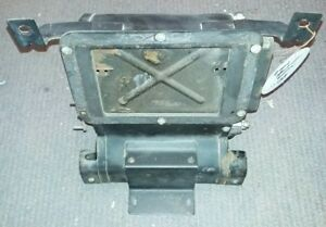 70S DATSUN 240Z HEATER CORE BOX WITH WORKING DOORS AND LEVERS HEAT A/C NICE PART