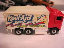 1991 HOT WHEELS KOOL AID WACKY WAREHOUSE (RED CAB) HAULER 1/64 Loose Minty