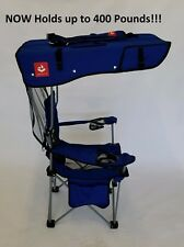 ROYAL BLUE With BLACK TRIM Renetto 3.5 HEAVY DUTY, Original Canopy, mesh insert