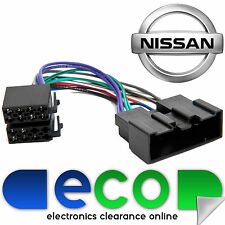 Nissan Terrano II MK2 1993-06 voiture stéréo radio iso wiring harness lead PC2-72-4