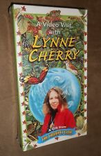 """A Video Visit with Lynne Cherry"" VHS Tape - Brand NEW, Factory Sealed"