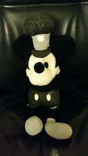 """Steamboat Willie Plush Disney Store Mickey Mouse Doll Original Cartoon Toy 18"""""""