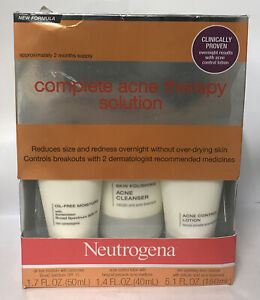 Neutrogena Complete Acne Therapy Solution Exp 03/2022