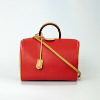Louis Vuitton, Sac Doc en cuir rouge