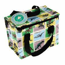 Planet Save Dinosaur Land Design Woven Cool Lunch Bag School/Leisure 14x20x15cm