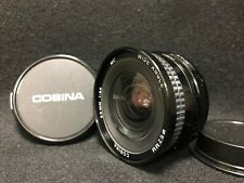 【N.Mint+++】Cosina 20mm F3.8 MC Wide Angle MF for PENTAX PK-A/R from Japan#2059