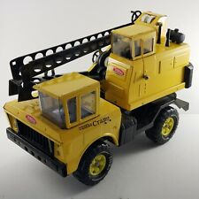 Tonka Mighty Crane Truck 1974 Original 3940 Pressed Steel Toy 18½ Long No Bucket