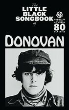 The Little Black Songbook of Donovan. 80 Classics.Complete Lyrics&Chords.NEW.