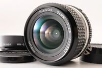 【NEAR MINT+】NIKON AIS NIKKOR 24mm F/2.8 MF Wide Angle Prime Lens +HN-2 Hood JP