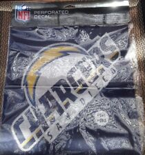 San Diego Chargers NFL Perforated Decal Window Vinyl Film Shade Football Team