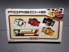 Matchbox Convoy Box Truck Lorry Porsche Racing Car Set 911 959 944 MC23