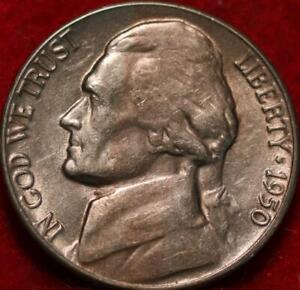 1950-D Denver Mint Jefferson Nickel