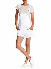 REBECCA MINKOFF Women's White Shlee Dungarees $148 NWT