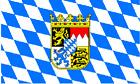 Bavaria Flag w/ Crest 5
