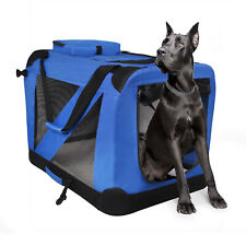 Soft Dog Crate Kennel,Jespet 3 Door Soft Sided Folding Travel Pet Carrier 3 Size