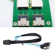 0.5 M SAS SFF-8087 36P a 4 X SATA Raid Controller disco rigido Cavo Connettore Cavo Dati