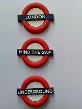 3X3D LONDON TFL SIGNS LONDON UNDERGROUND MIND THE GAP FRIDGE MAGNET SOUVENIR