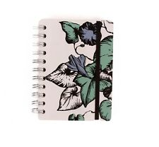 New Studio A6 Notepad w/Flowery Design 100%Recycled Leather! (#AR2140)