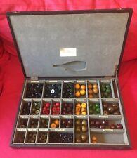 New listing Rare Vintage Catalin Chemistry Molecular Model Kit Teaching from 1950s