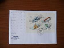 Germania - serie completa FDC Olimpiadi 2002 - 2 pics (m225b)