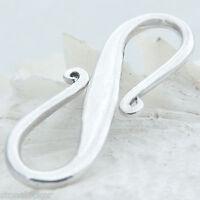 K25 S-Haken 25mm SILBER 925 Verschluss f. Kette u. Armband silver clasp 25mm K25