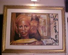 Haitian Painting by Ralph Allen - 24x36- Price Cut