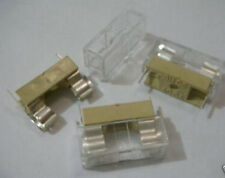 5x Panel Mount PCB Fuse Holder Case w Cover 5x20mm,FC1w