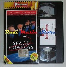 film VHS  SPACE COWBOYS C. Eastwood T. L. Jones CARTONATA PANORAMA (FP3*) no dvd