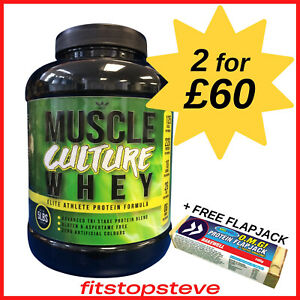 Muscle Culture Whey Protein 2.27kg-4kg   2.27kg - 2 FOR £60   4kg - 2 FOR £91  