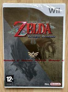 The Legend Of Zelda Twilight Princess Wii Pal Sealed Rare Mint VGA Wata Ready