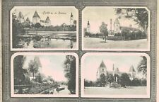 Orth o.d.Donau,Austria,4 Views,Used,c.1927