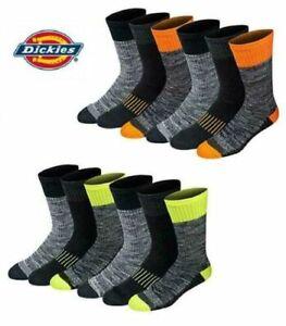 Dickies Men's Work Crew Socks Dri-tech Heavy Duty Trainer Sports Boot 6-11 lot