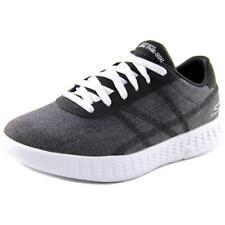 Zapatillas deportivas de mujer Skechers de tacón bajo (menos de 2,5 cm) de color principal negro