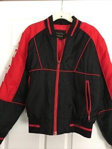 YAMAHA Racing Jacket Black/Red Maxim Wear