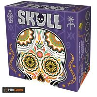 Skull Card Game | Bluffing Game for 3-6 Players | Ages 10+ | Family, Kids, Board