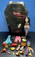 Monster High Fangtastic Coffin Locker w/Doll & Accessories RETIRED 2012
