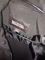 Men's Michael Kors black coat, it's size SMALL only been worn once