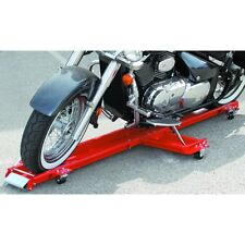 Low Profile 1250 Lb. Motorcycle Dolly Storage Cart w/Swivel Casters