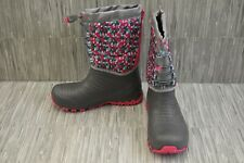 Merrell Snow Q Lite Mk159180Y Boots, Big Girl's Size 5M, Gray