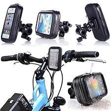 "4.3"" Waterproof Motorcycle Bicycle Handlebar Case Bag Mount for Cell Phone GPS"