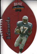 1998 Playoff Contenders Leather Robert Edwards Card