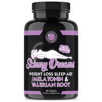 Angry Supplements Skinny Dreams Women's Weight Loss + Sleep Aid w. Melatonin 1pk